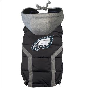 PHILADELPHIA EAGLES NFL DOG PUFFER VEST